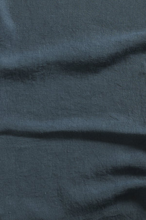 Linge Particulier Pillow case linen - duck blue