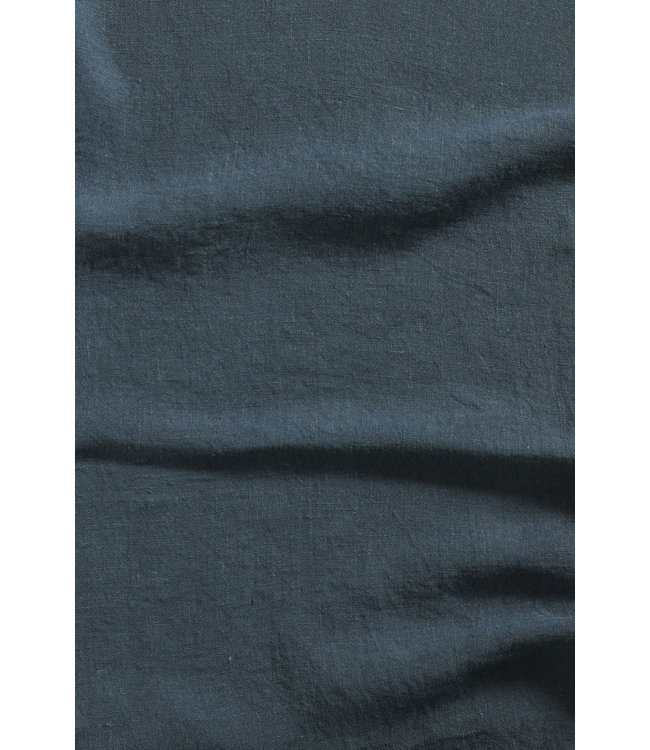 Linge Particulier Pillow case linen - duck blue