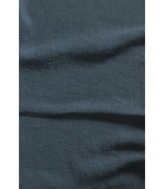 Pillow case linen - duck blue