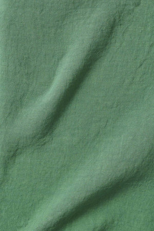 Linge Particulier Pillow case linen - emerald green