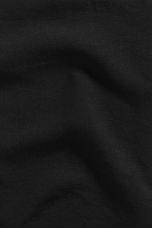 Linge Particulier Pillow case linen - black