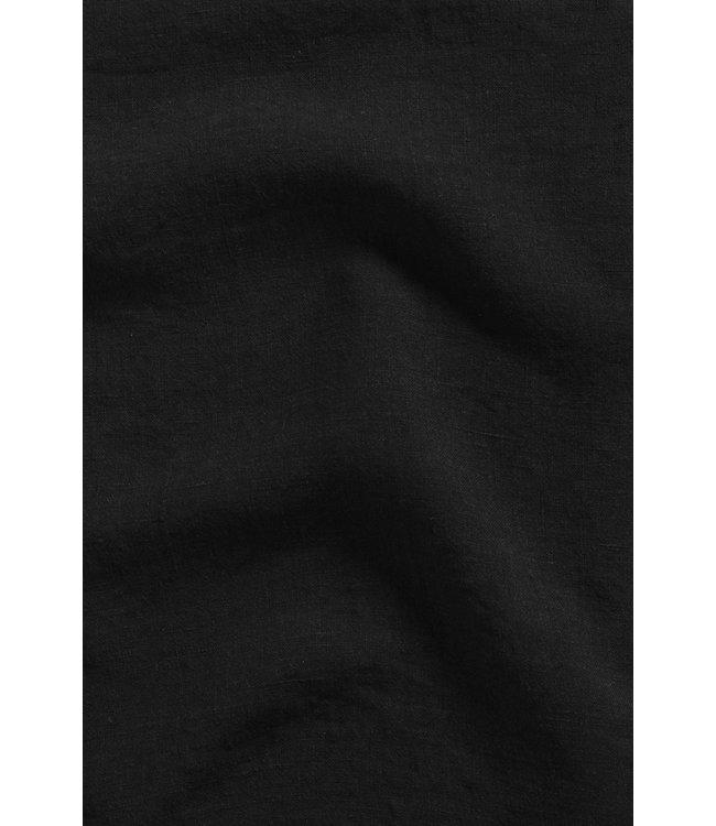Linge Particulier Pillow case linen - black