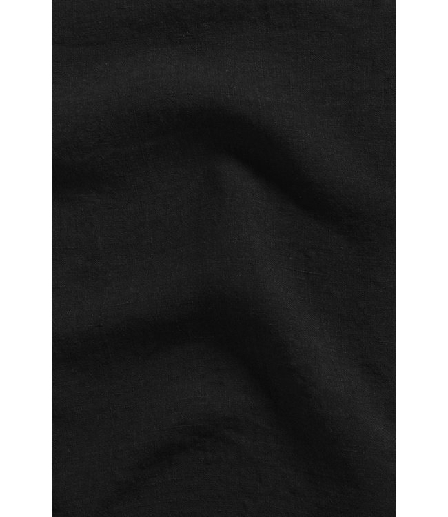 Pillow case linen - black