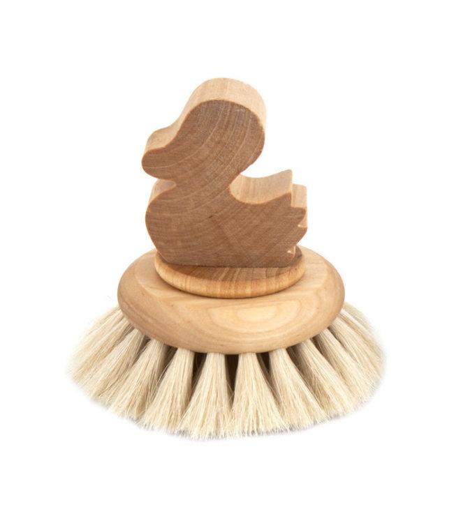 "Iris Hantverk Bath brush big ""Duck"""