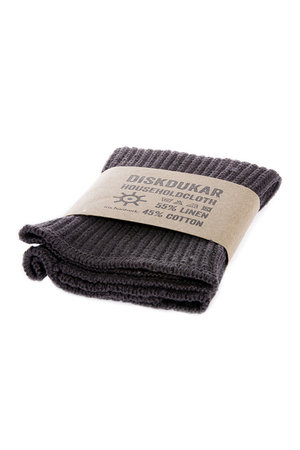 Iris Hantverk Household cloth  dark grey
