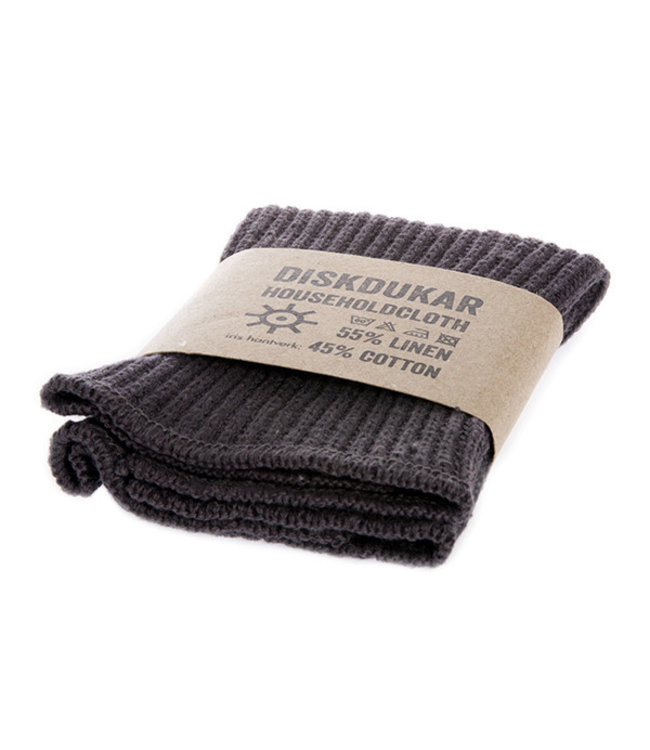 Household cloth  dark grey