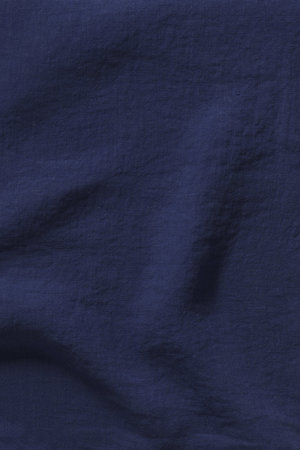 Linge Particulier Pillow case linen - midnight blue