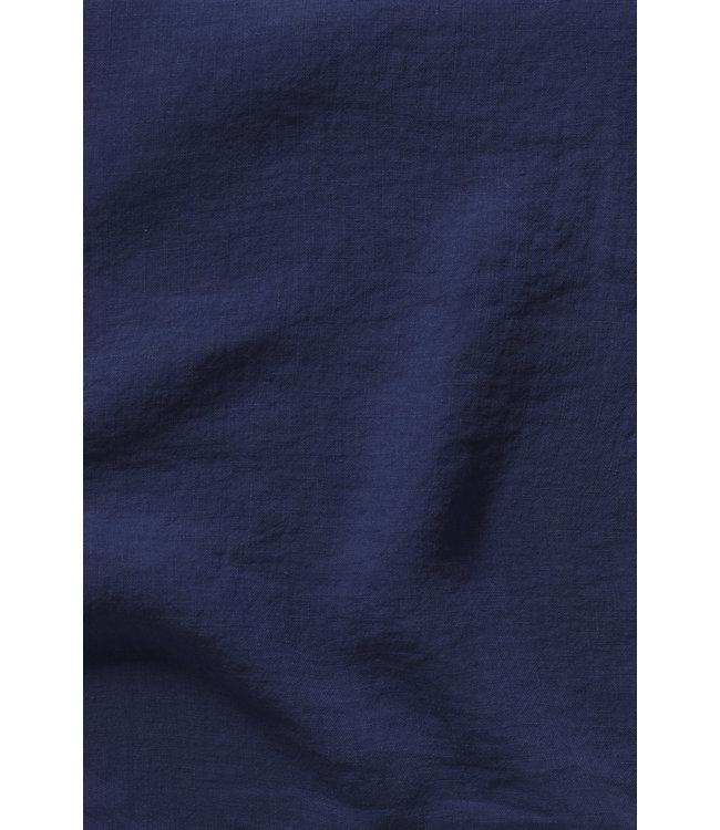Kussensloop linnen - midnight blue