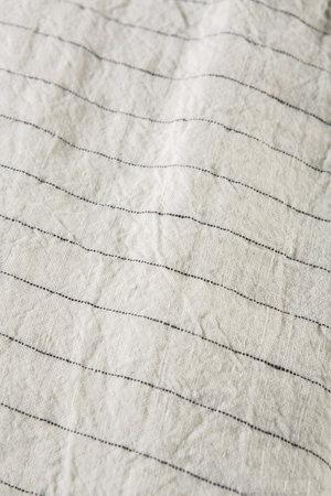 Linge Particulier Kussensloop linnen - tennis stripe