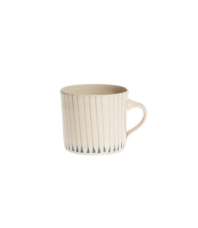 Wonki Ware Mug straight L  - stripe