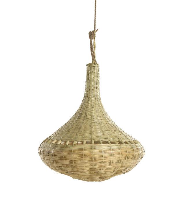 Bamboo hanging lamp  'onion'