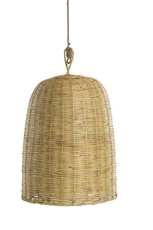 Couleur Locale Bamboo hanging lamp 'tulip'