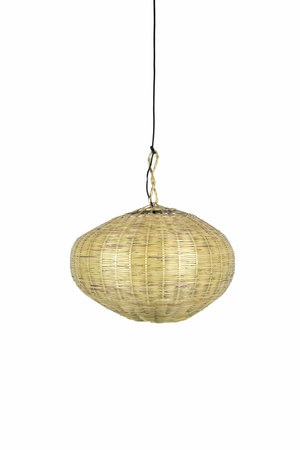 Couleur Locale Bamboo hanging lamp 'ufo'