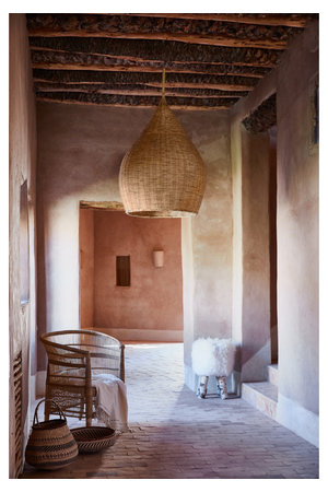 Couleur Locale Bamboe hanglamp XL