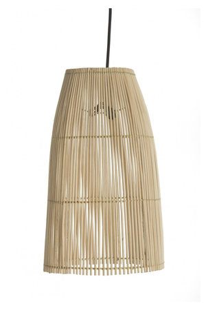 Couleur Locale Fijne rotan hanglamp