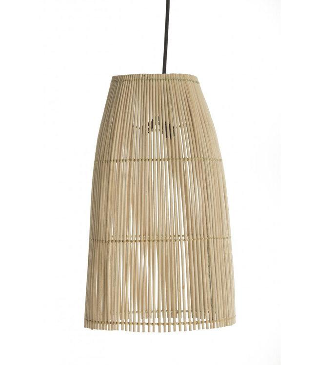 Couleur Locale Fijne rotan hanglamp