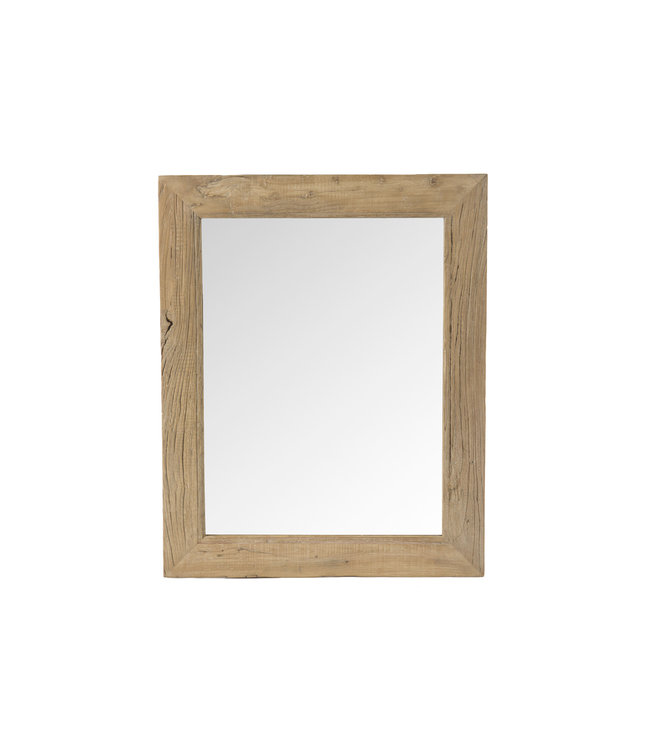 Mirror elm wood - 80 x 100cm