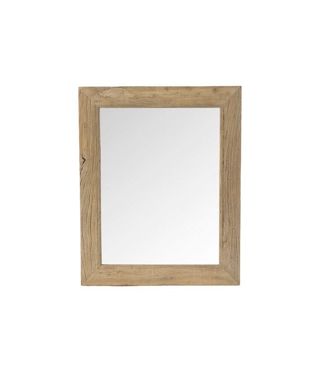 Spiegel olmhout - 80 x 100cm