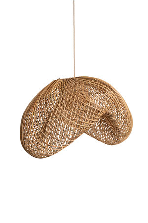 Rotan hanglamp - organische vorm