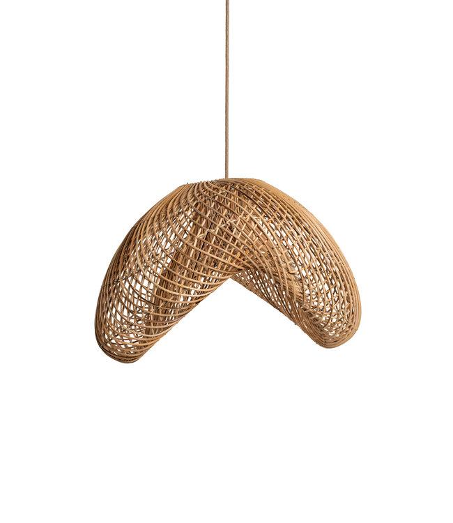 Lampshade rattan - organic shape