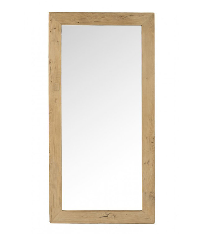 Mirror elm wood  - 80 x 160cm