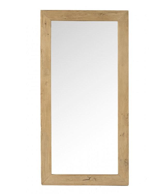Spiegel olmhout - 80 x 160cm