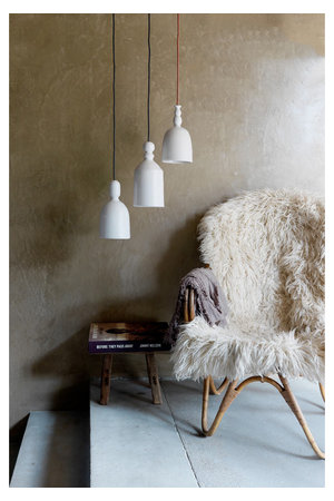 The Gentle Factory Keramiek hanglamp - wit