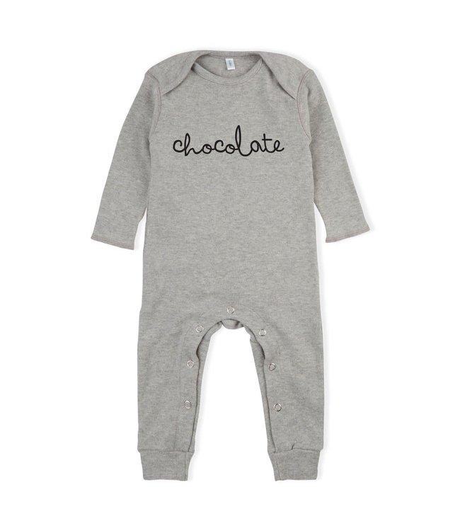Playsuit 'chocolate' grey