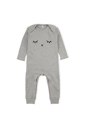 Organic Zoo Playsuit 'sleepy' grey