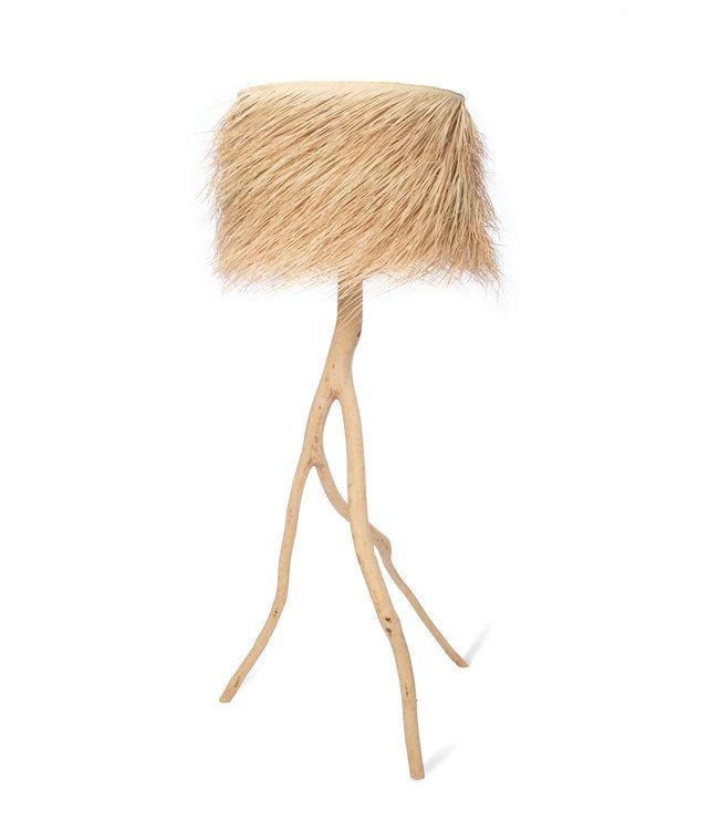Palm standing light 'Tak' - natural