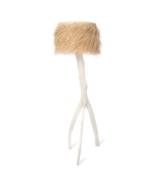 Palm staanlamp 'Tak' - wit