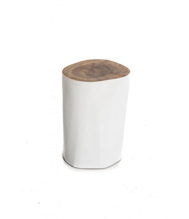 White tree stool palm