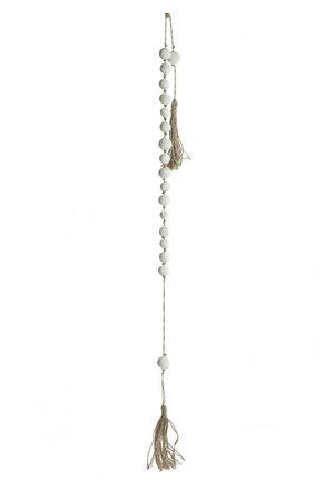 Terracotta bread necklace