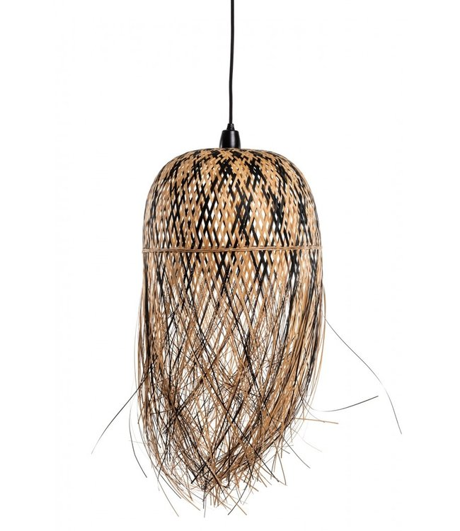 Caravane 'Mademoiselle Pho' bamboo hanging lamp