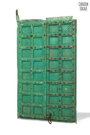 Old door panels, India