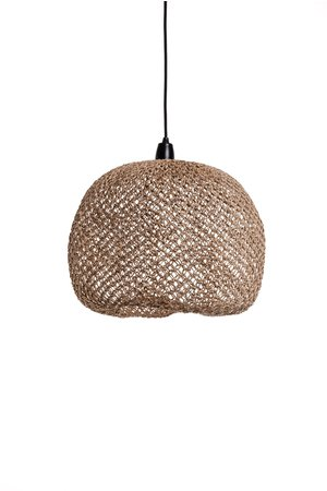 Caravane Hanglamp 'Balbi' bananenvezel boule - naturel