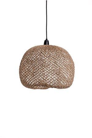 Caravane Hanglamp 'Balbi' bananenvezel - naturel boule