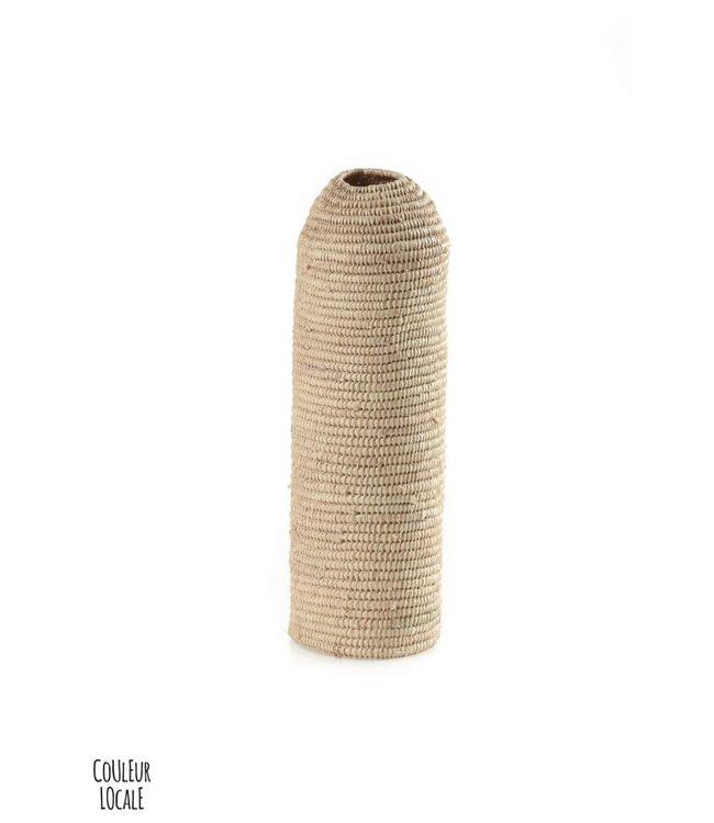 Couleur Locale Bottle holder raffia