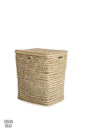 Couleur Locale Woven laundry basket