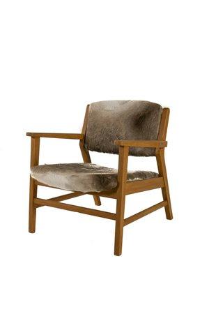 Rock The Kasbah Vintage chair cowskin