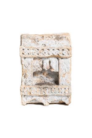 Antique sandstone shrine niche #2