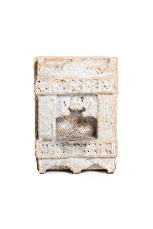 Antique sandstone shrine niche #4