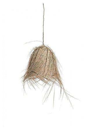 Handgemaakte hanglamp palm met franjes