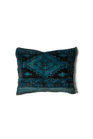 Cushion Afghanistan blue #25