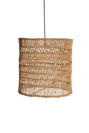 Rock The Kasbah Woven Wicker suspension lamp