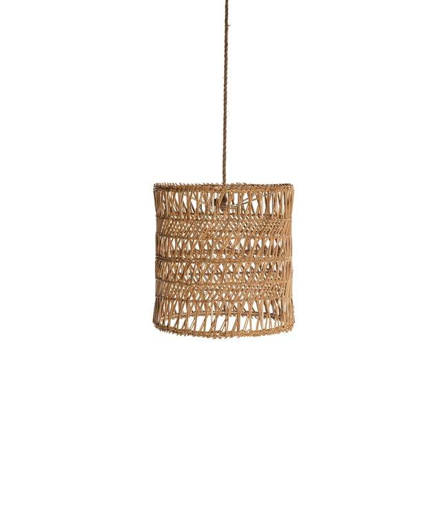 Woven Wicker suspension lamp