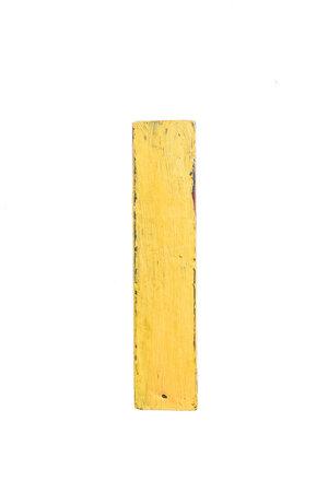 Wooden letter I