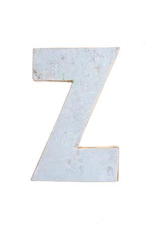 Wooden letter Z