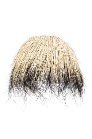 Rock The Kasbah Hanglamp  demi-boule palm - naturel/zwart
