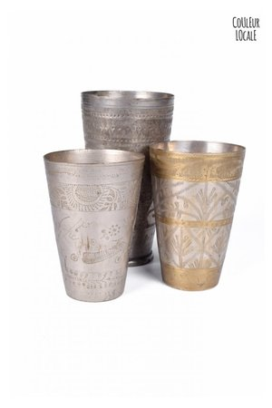 Antique lassi cup